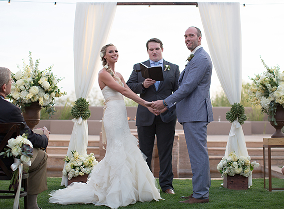 Four Seasons Wedding Scottsdale : Kelly + Jim